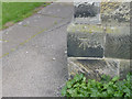 SK3830 : Bench Mark on Chellaston church by Alan Murray-Rust