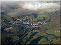 NS4706 : Dalmellington from the air by M J Richardson