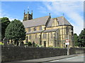 SE0826 : St George's Church - viewed from Lilac Street by Betty Longbottom
