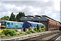 TQ5738 : Railway shed, Spa Valley Railway by N Chadwick