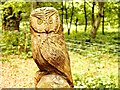 SK6268 : Owl Waymarker, Sherwood Forest by David Dixon