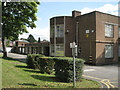 SP1295 : Eastern half of Plantsbrook School frontage, Upper Holland Road by Robin Stott