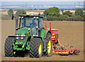 TA0213 : Seed Drilling on Elsham Hill : Week 39