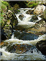 SN8356 : Afon Irfon west of Bryn Du, Powys : Week 39