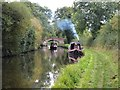 SJ9312 : Boats on the Staffordshire and Worcestershire Canal : Week 41