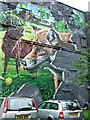 NS5965 : City Halls graffiti style mural by Thomas Nugent