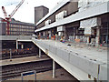 SP0786 : New Street station, east front, work in progress by Robin Stott