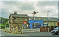 TA1076 : Hunmanby station and level-crossing, 1997 by Ben Brooksbank