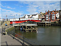NZ8911 : Whitby Swing Bridge by Pauline E