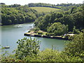 SW8340 : Roundwood Quay and Hill Fort, Calenick Creek, Nr. Truro by Callum MacLeod