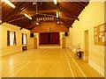 SK9818 : Village hall interior by Bob Harvey