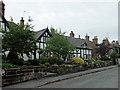 SJ4858 : Cottages on Church Bank, Tattenhall by John Allan