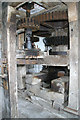 SJ4570 : Mickle Trafford Mill - south gearing by Chris Allen