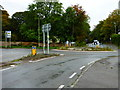 SU4789 : Roundabout at Rowstock by Shazz