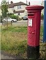ST5876 : Postbox, Hill View by Derek Harper