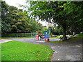 SD9806 : Dobcross Play Area by John Topping