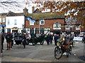 TQ2636 : Crawley paddock - 2013 veteran car run : Week 45