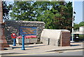 SN2816 : St Clears War Memorial by N Chadwick