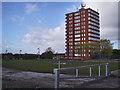 SJ9894 : Tameside Court Hattersley by Stephen Burton