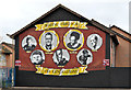 J3574 : Boxing mural, east Belfast by Albert Bridge