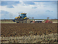 TA0415 : Ploughing near Wootton Dale Top : Week 47