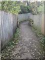 SE1645 : Footpath - Sandholme Drive by Betty Longbottom
