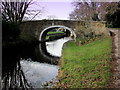 SE1238 : Canal Bridge at Dowley Gap by Chris Heaton