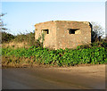 TG3631 : Pillbox beside North Walsham Road by Evelyn Simak