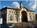ST6171 : Ornate archway entrance to a depot in Brislington, Bristol by Jaggery