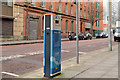 J3373 : E-car charging point, Belfast (5) by Albert Bridge