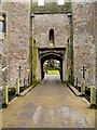 ST5545 : Gatehouse, The Bishop's Palace, Wells by David Dixon