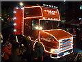 SZ0891 : Bournemouth: a photo by the Coca-Cola truck : Week 51