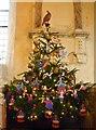 TQ1116 : Christmas Tree Festival, Warminghurst Parish Church by nick macneill