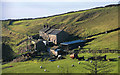 SJ9776 : Waggonshaw Farm by Peter McDermott