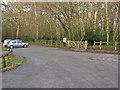SU8363 : Wildmoor Heath car park by Alan Hunt
