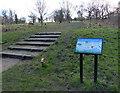 SK6202 : Information board at Shady Lane Arboretum by Mat Fascione