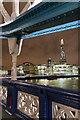 TQ3380 : The Shard from Tower Bridge, London SE1 by Christine Matthews