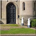 SK5439 : Lenton Lodge, doorway by Alan Murray-Rust