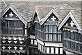 SJ8358 : Gables in Little Moreton Hall by Philip Halling