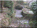 ST5663 : Ford and footbridge across the Winford Brook by Dr Duncan Pepper