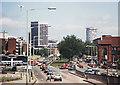 SP0685 : View towards Birmingham city centre 1983 by William Starkey