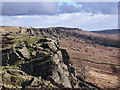 SK2384 : Stanage Edge by Stephen Burton