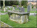 SK2327 : Tomb of George Ridgway, Rolleston churchyard by Alan Murray-Rust