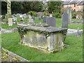 SK2327 : Tomb of George Ridgway, Rolleston churchyard by Alan Murray-Rust