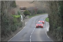 SX0369 : North Cornwall : The A389 by Lewis Clarke