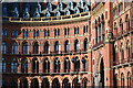 TQ3082 : Rows of windows: St Pancras detail : Week 8