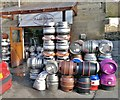 SK3462 : The Ashover Brewery, at The Old Poet's Corner : Week 8