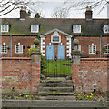 SK2327 : Rolleston Almshouses, gateway by Alan Murray-Rust