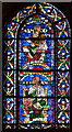 TR1557 : Stained glass window (S.XII), Canterbury Cathedral by Julian P Guffogg