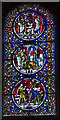TL5480 : Memorial Stained glass window, Ely Cathedral by Julian P Guffogg